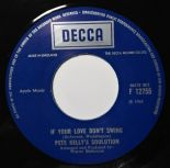 "45Re ✦PETE KELLY'S SOULUTION✦ ""If Your Love Don't Swing / Midnight Confession"" ♫"